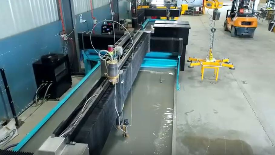 best waterjet cutting process