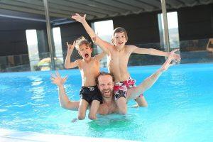 health promoting benefits swim spa